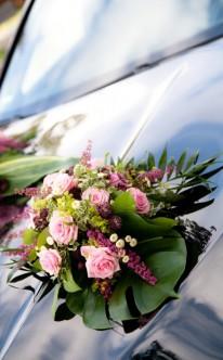 Autoschmuck in Violett-Tönen