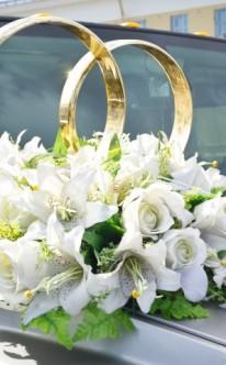Autoschmuck zur Hochzeit – Schöne Ideen für die Autodeko zur ...