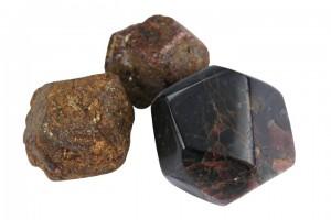 Granat Verlobungsring
