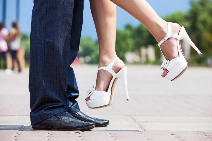 High Heels als Brautschuhe