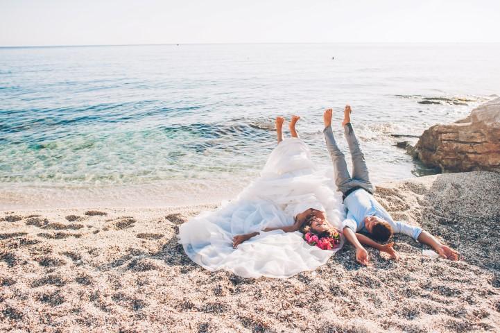 Hochzeit im Ausland am Strand