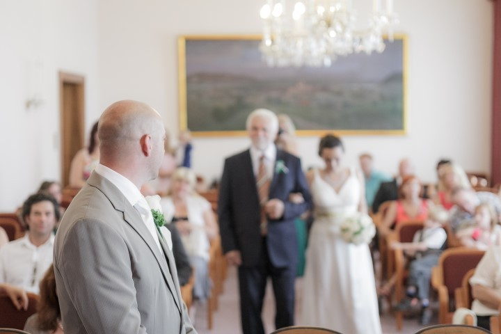 Hochzeit auf dem Standesamt