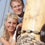 Hochzeit auf Schiff