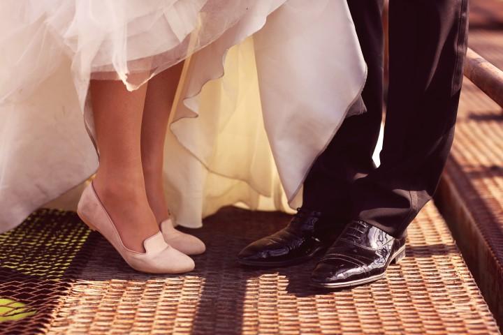 Hochzeitsschuhe in Lack für den Bräutigam