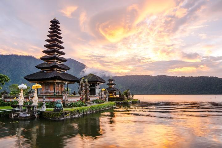 Pura Ulun Danu Bratan auf Bali