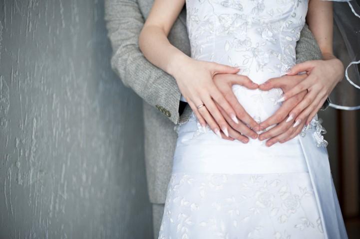 Heiraten mit Babybauch