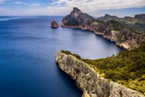 Felsige Küste von Mallorca