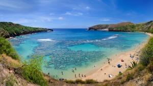 Bucht auf Hawaii