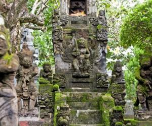 Affendenkmal auf Bali