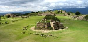 Alte Stadt der Zapoteken in Mexiko