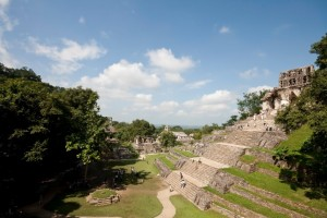 Alte Stadt der Maya in Mexiko