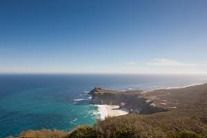 Hügel an der Küste Südafrikas