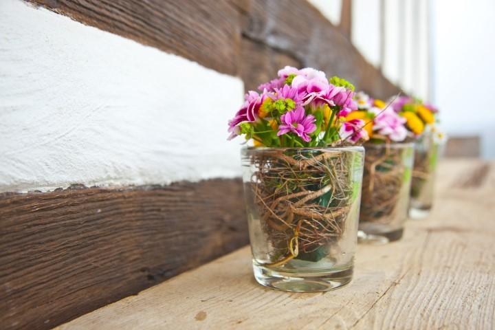 Heiraten im herbst tipps zu deko und location - Tischdekoration naturmaterialien ...