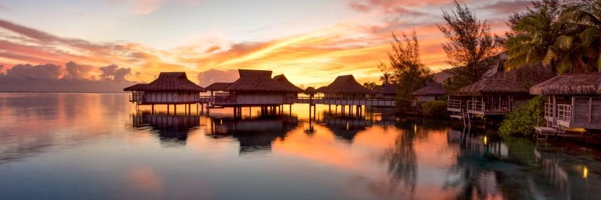 Flitterwochen auf Bora Bora