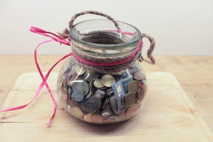 Hochzeitsgeschenk: Ein Topf voll Glück und Geld