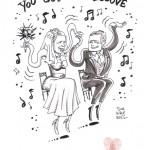 Karikaturen zur Hochzeit: Das etwas andere Geschenk
