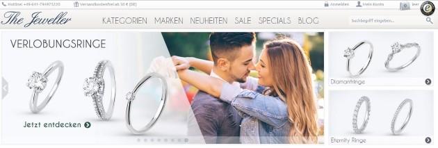The Jeweller Onlineshop