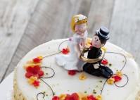 Tortenfiguren für die Hochzeitstorte – von klassisch bis originell