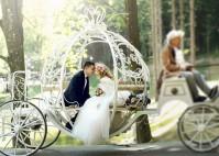 Kutsche, Oldtimer oder Limousine – die Fahrt zur Trauung als Event zelebrieren