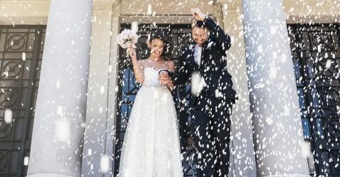 Reis werfen – ein besonderer Hochzeitsbrauch