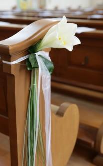 Ausgefallene Kirchendekoration