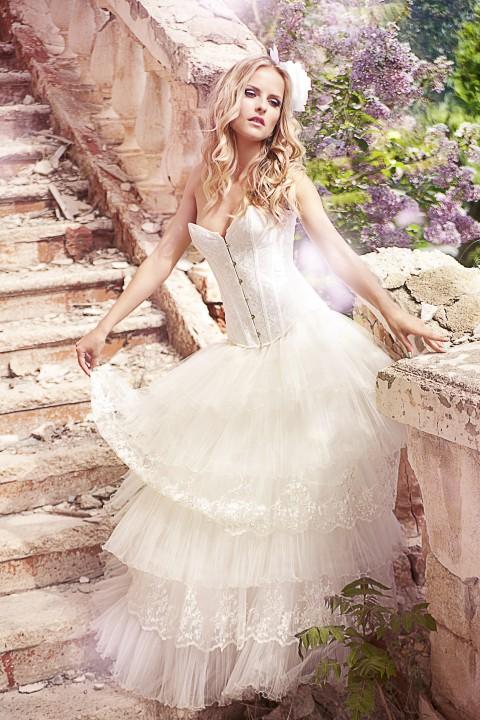Ballkleid: Form, Look & Besonderheit vom Duchesse-Brautkleid