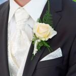 Bräutigam Krawatte