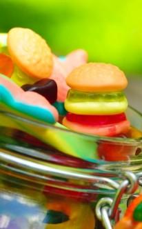 Verspielte Süßigkeiten