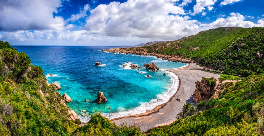 Flitterwochen auf Sardinien