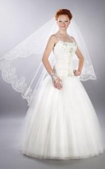 Duchesse-Brautkleid aus Chffon
