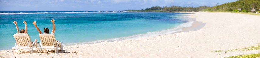 Flitterwochen am Strand