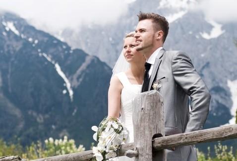 Hochzeit im Gebirge