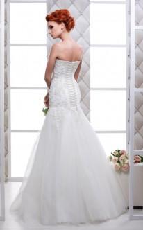 Rückenansicht Meerjungfrauen-Brautkleid
