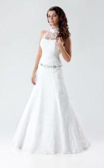 Prinzessinnen-Brautkleid mit Mandarin Ausschnitt