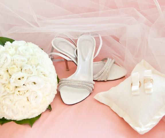 Sandaletten als Brautschuhe