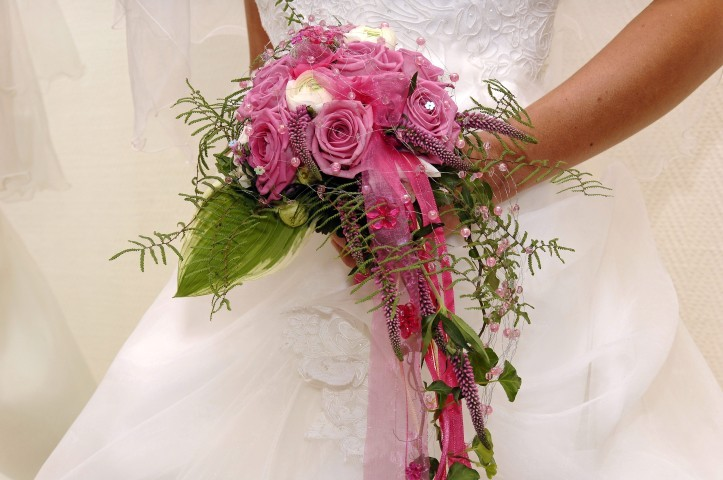 Wasserfall-Brautstrauß