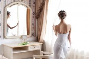 Stilvolles Brautkleid