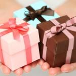 Hochzeitsgeschenke von den Eltern