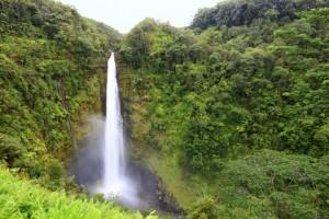 Wasserfall auf Hawaii