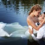 Trash the Dress: Brautkleid zerstören für außergewöhnliche Hochzeitsfotos