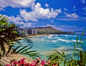 Vulkankrater bei Honolulu