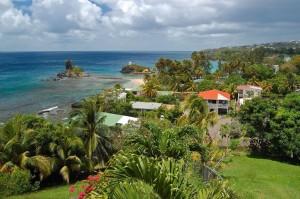 Urlaubsstrand der Karibik