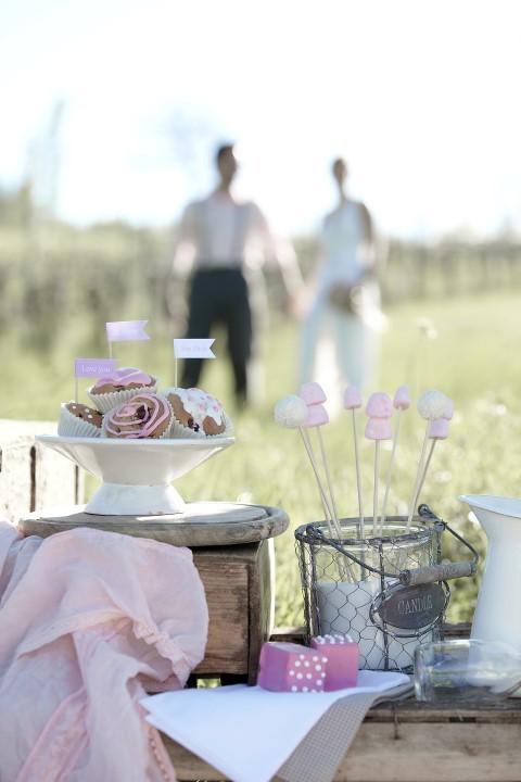 Hochzeit im Vintage-Stil auf dem Land