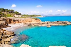 Kristallwasser vor Mallorca