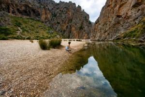 Schlucht auf Mallorca