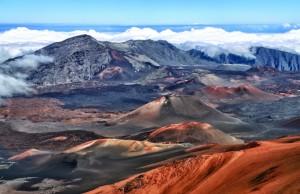 Berggebiet auf Hawaii