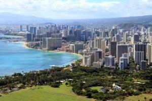 Strand von Honolulu