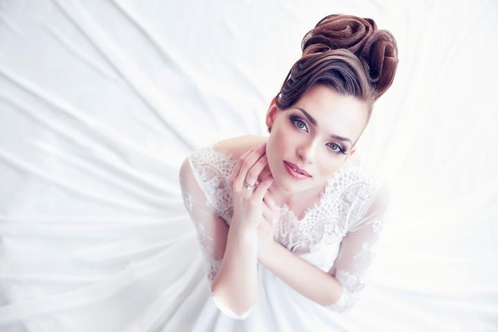 Edles Braut Make-up