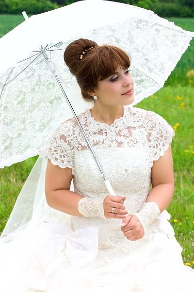 itskleid für mollige Braut
