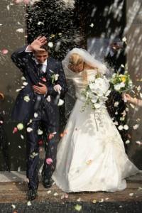 Glücklich verheiratetes Ehepaar